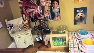updated (again!) GIANT american girl doll house