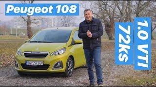 Simpatični gradski mališan😃 - Peugeot 108 - testirao Branimir Tomurad