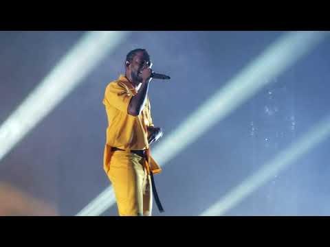 Kendrick Lamar performs Loyalty live @ The DAMN. Tour @ SAP Center, San Jose, CA.