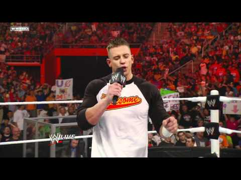 Raw: John Cena vs. Alex Riley
