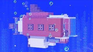 гра майнкрафт як зробити підводний човен