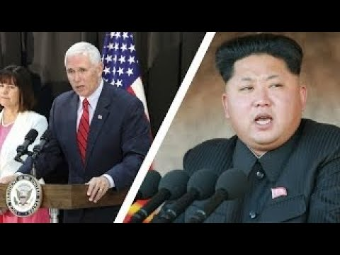 BREAKING NEWS | US Vice President Pence visits DMZ amid high tensions with North Korea[HD]