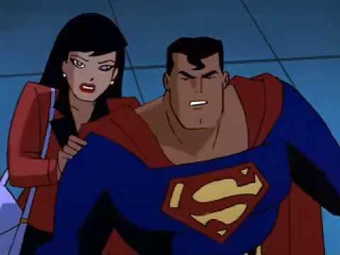 STAS Superman saves Lois Lane