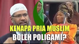 If Eve Is Created Only For Adam, Why Are Muslims Can Marry More Than One Woman? | Dr. Zakir Naik