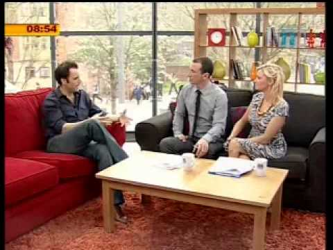 MATT GRINDLEY - BREAKFAST TV INTERVIEW