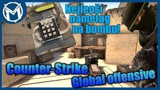 Nejúžasnější nametag na bombě! |  CS:GO MM #021 - Mirage [MarweX]