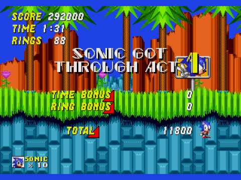 Sonic The Hedgehog 2 Hill Top Zone Youtube