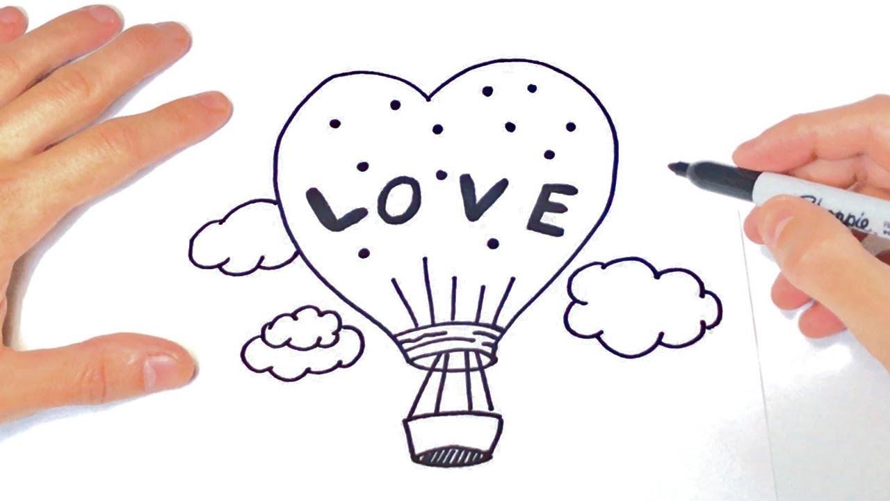 Como Dibujar La Palabra Love