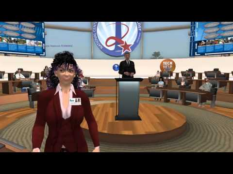 How to Hold Government Conferences in Virtual Worlds