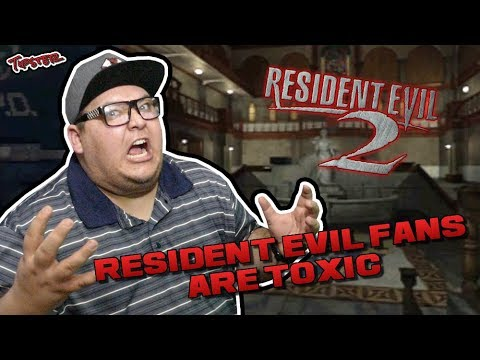 THE RESIDENT EVIL FAN COMMUNITY IS A TOXIC MESS!!!
