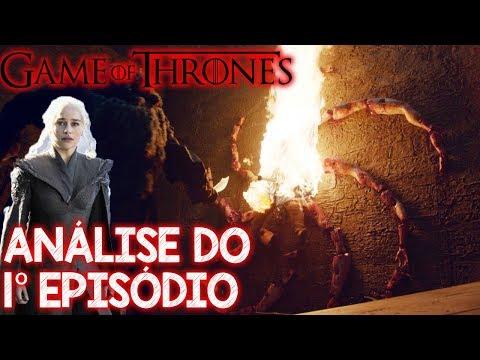 Game of Thrones Análise do 1 episódio da 8 temporada - símbolo do Rei da Noite