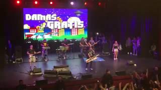 Damas Gratis - Inicio de show - Mar del Plata Radio City 14/10/2018