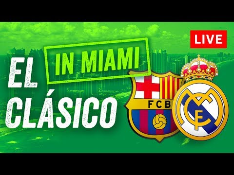 LIVE El Clasico: Real Madrid v Barcelona - No Ronaldo, but Messi, Neymar & more in our big preview!