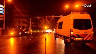 Automobilist gewond na ongeluk op IJsselallee in Zwolle