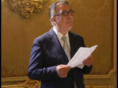 Francesco Urso Legge Il Matrimonio Di Gibran Kahlil Gibran Youtube