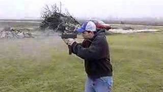 Mac 10 full auto  Shooting the VMAC45 Pistol ( 45ACP MAC-10