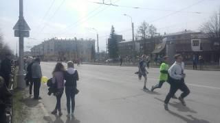 Первомайская эстафета 2015г,Иваново,школы.