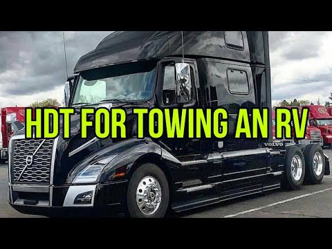 Download Using a SEMI TRUCK (HDT) For Towing an RV.  Pros and Cons!