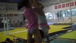 Chinese Gymnastics Training