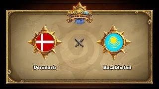 Denmark vs Kazakhstan, Hearthstone Global Games Group Stage