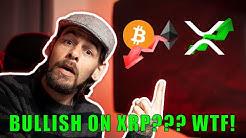 Bitcoin, Ethereum, Ripple technical analysis. Why I am Bearish on BTC and Bullish on XRP