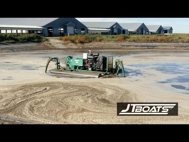 JT Boat (1500 Series) Manure Agitator - Full Overview