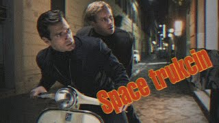 The Man from U.N.C.L.E. || Space trukcin. Агенты Анкл.
