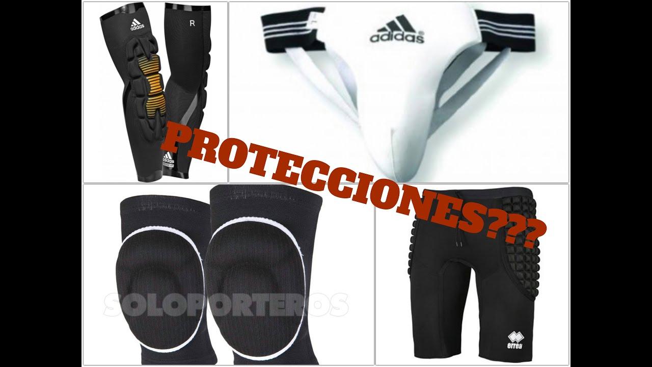 06791121df2 PROTECCIONES PORTEROS FUTSAL - YouTube