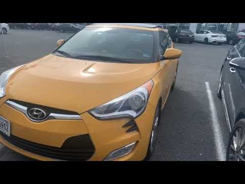 Used 2016 Hyundai Veloster Richmond VA Fredericksburg, VA #HLH511183A - SOLD