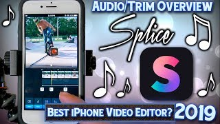 splice App - Audio Overview & Tutorial - Selection & Trimming