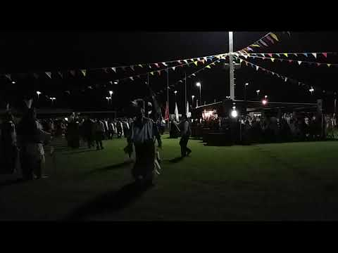 Comanche Nation Fair 2018 Grand Entry