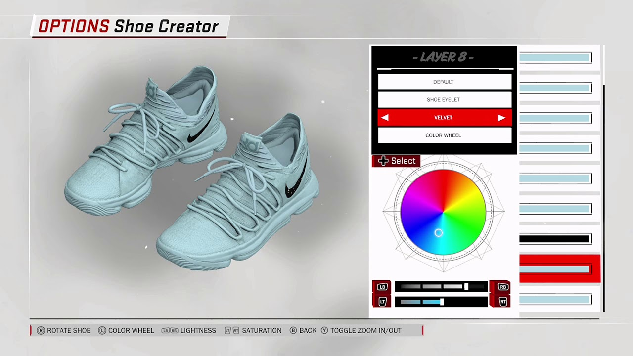 3f8be9d2678 NBA 2K18 Shoe Creator - Nike KD 10