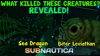 WHAT KILLED THE SEA DRAGON AND BITER LEVIATHAN? REVEALED! | Subnautica News