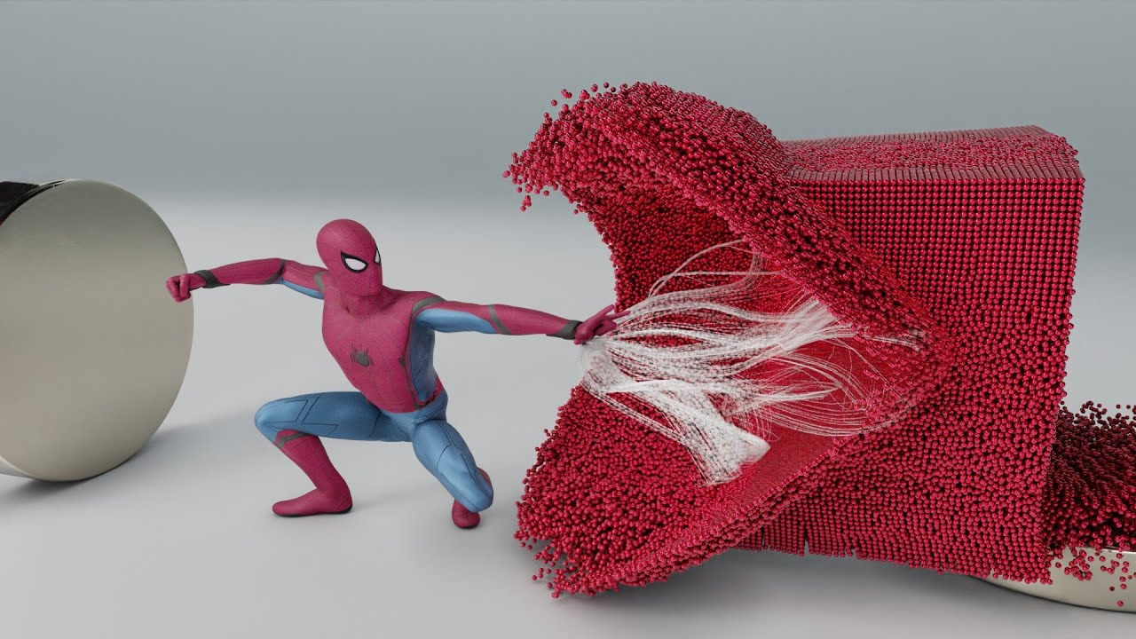 SPIDERMAN vs MAGNETIC BALLS