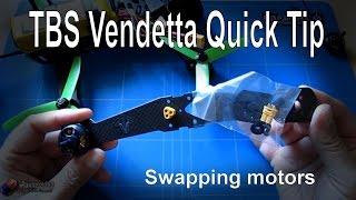 RC Quick Tips: TBS Vendetta Motor Change