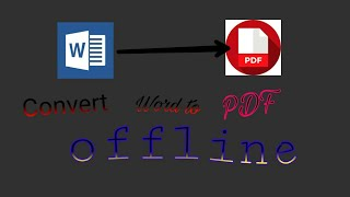 How to install plugin for pdf converter in office|| how to converter Word document into pdf