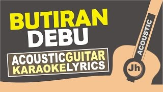 Terry - Butiran debu ( Karaoke Acoustic ) MP3