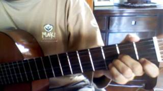 Guitar Lesson La seine et moi - Paradis & Chedid (Namus974)