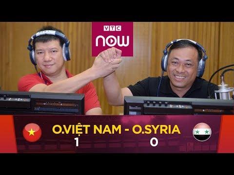 Olympic Việt Nam Vs Olympic Syria   Tứ kết bóng đá nam ASIAD 2018