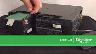 Connecting the Battery on APC Back-UPS Pro M Series UPS | Schneider Electric Support