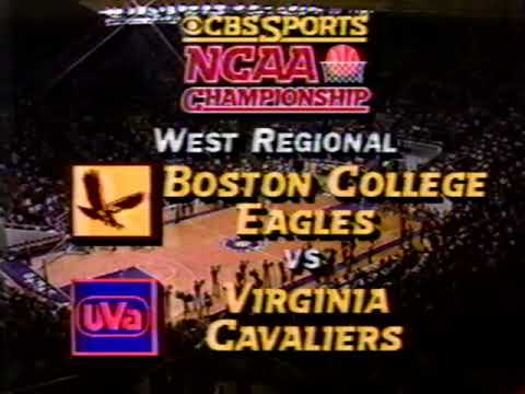 Virginia vs Boston College March 24, 1983