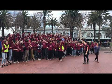 TAC California Students Cross the Finish Line at the Walk for Life West Coast 2020