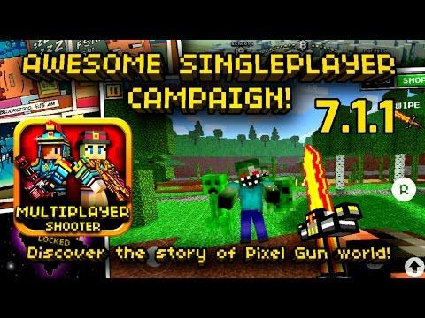 Playing Old Pixel Gun 3D Updates #2 (7.1.1)