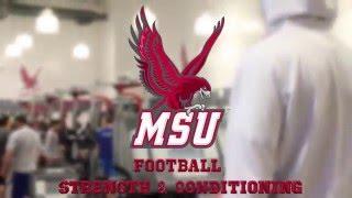 Montclair State College Football Spring Training || CBRMEDIA