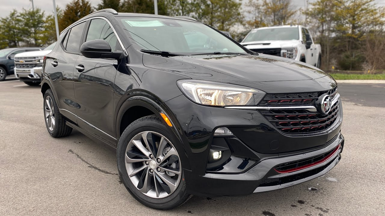 2020 buick encore gx st 1.2l fwd review - youtube