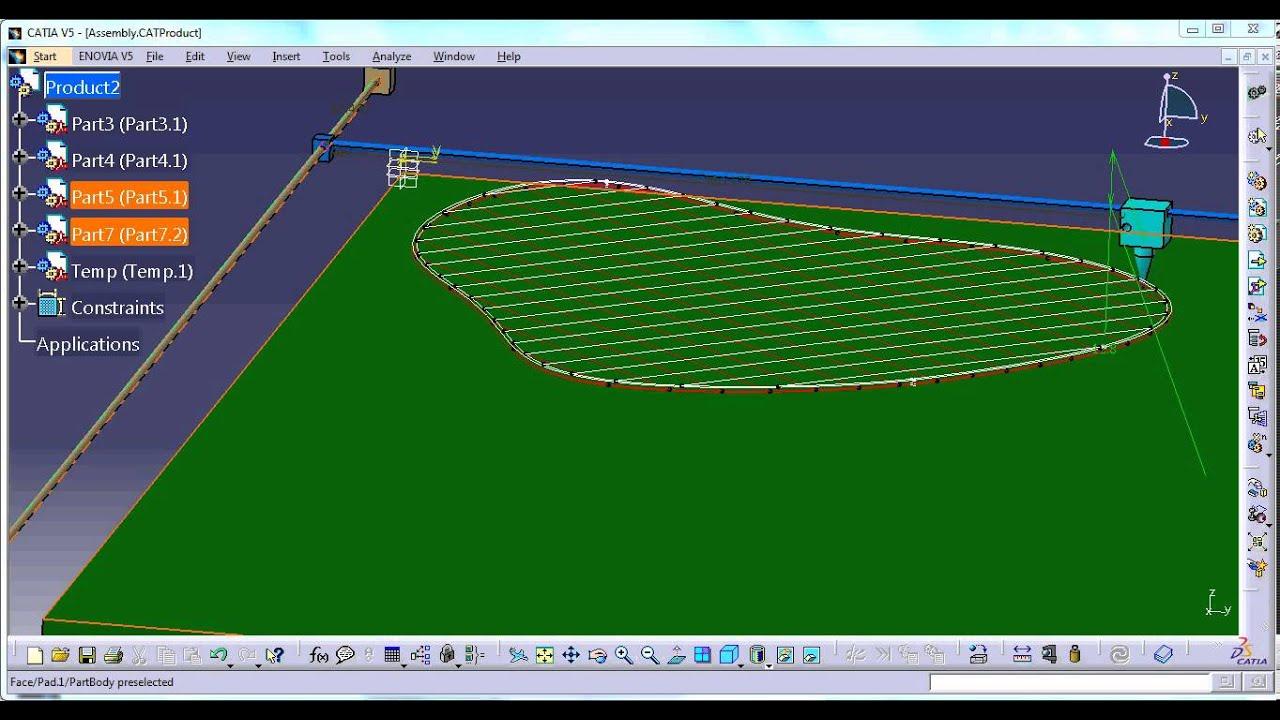 3d Printer Simulation In Catia Youtube