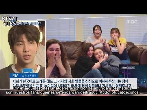 [SUB ESPAÑOL] BTS - Entrevista exclusiva con MBC NEWS luego de ganar en los BBMAs