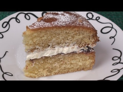 Superlight Victoria Sponge Cake Recipe