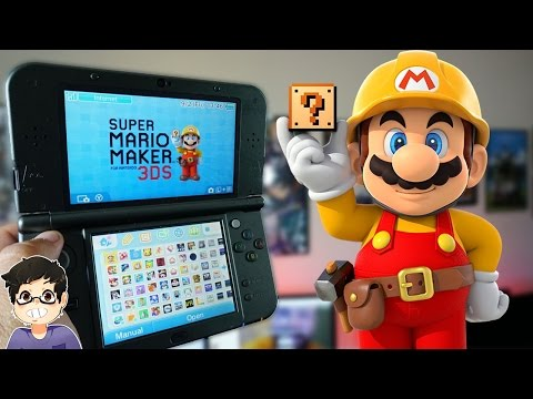 Super Mario Maker for Nintendo 3DS Review!