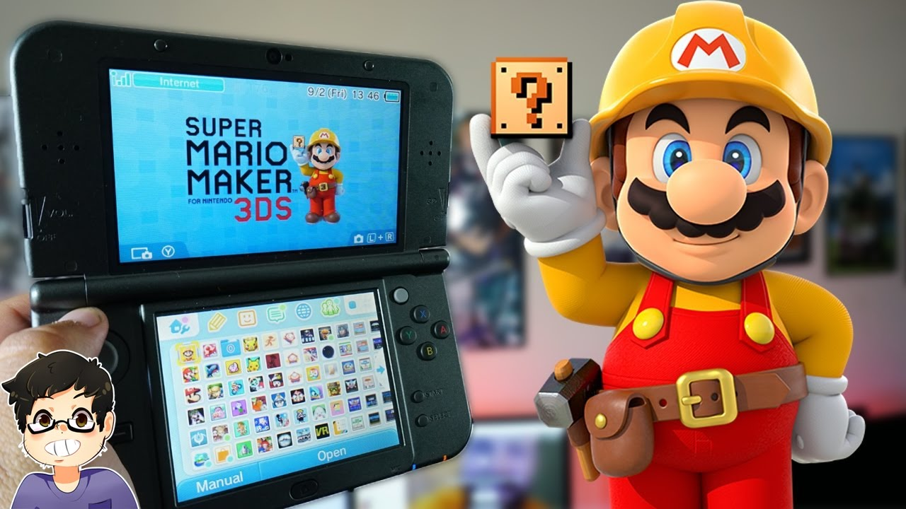 Download Super Mario Maker for Nintendo 3DS Review!